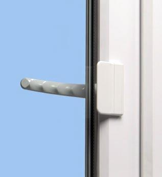 Купить фиксатор балконной двери - ручка лепесток в Санкт-Петербурге